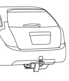 メインバーはバンパー裏に設置、もしくは曲げ加工を施し車の外観を損なわない施工 参考画像1