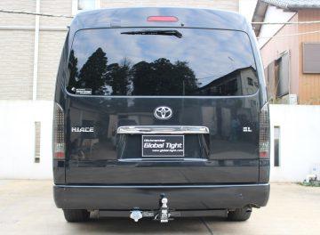 TOYOTA(トヨタ)社製、ハイエース 200系6型ワイドボディー用ヒッチメンバーの施工事例 / メイン画像
