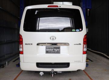 TOYOTA(トヨタ)社製、ハイエース 200系6型標準ボディー用ヒッチメンバーの施工事例 / メイン画像