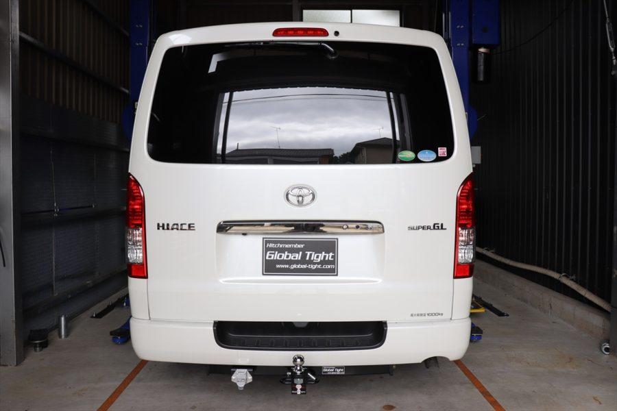 TOYOTA(トヨタ) ハイエース 200系6型標準ボディー用ヒッチメンバーの画像0
