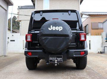 JEEP(ジープ)社製、ジープラングラーアンリミテッド用ヒッチメンバーの施工事例 / メイン画像